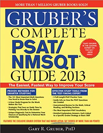 Gruber's Complete PSAT/NMSQT Guide 2013 Cover