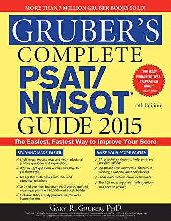 Gruber's Complete PSAT/NMSQT Guide 2015 Cover