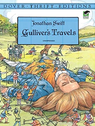Gulliver's Travels (Dover Thrift Editions) Cover
