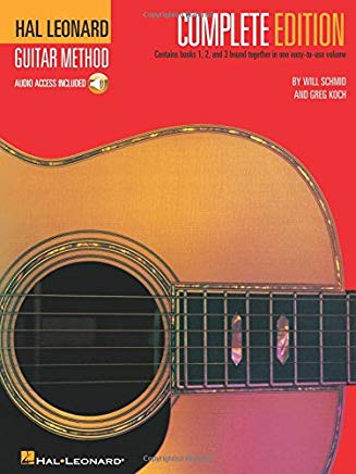 Hal Leonard Guitar Method, Complete Edition: Books 1, 2 and 3 Cover