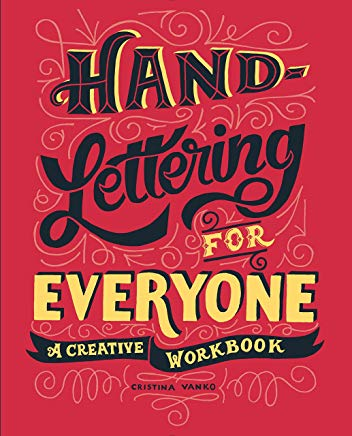 Hand-Lettering for Everyone: A Creative Workbook Cover