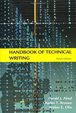 Handbook of Technical Writing, Ninth Edition Cover