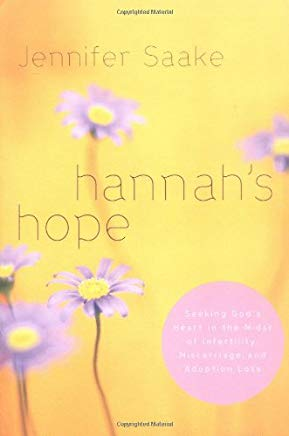 Hannah's Hope: Seeking God's Heart in the Midst of Infertility, Miscarriage, and Adoption Loss Cover
