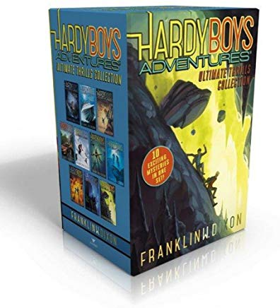 Hardy Boys Adventures Ultimate Thrills Collection: Secret of the Red Arrow; Mystery of the Phantom Heist; The Vanishing Game; Into Thin Air; Peril at ... of the Ancient Emerald; Tunnel of Secrets Cover