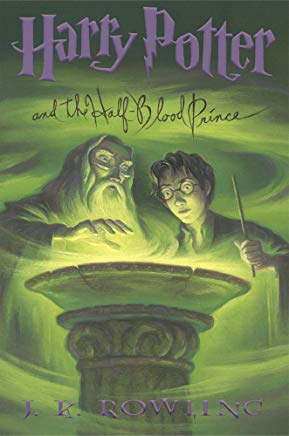 Harry Potter and the Half-Blood Prince (Book 6) Cover