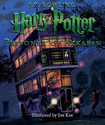 Harry Potter and the Prisoner of Azkaban: The Illustrated Edition (Harry Potter, Book 3) Cover