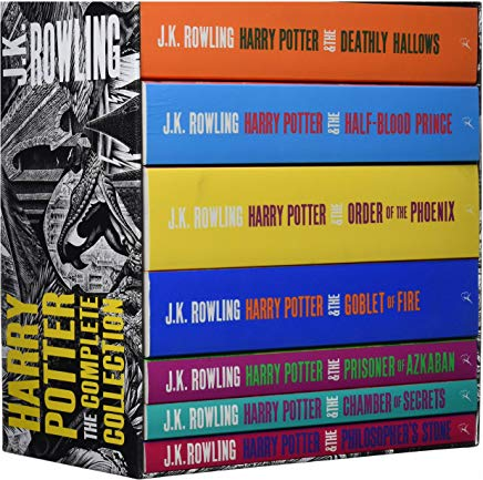 Harry Potter: The Complete Collection (kolichestvo tomov: 7) Cover