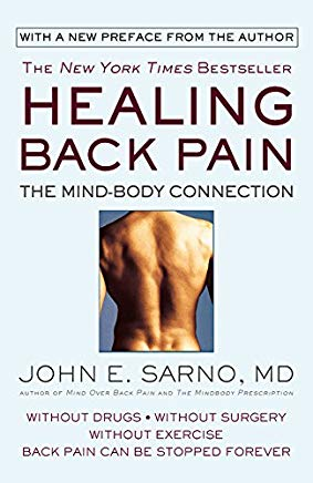 Healing Back Pain: The Mind-Body Connection Cover