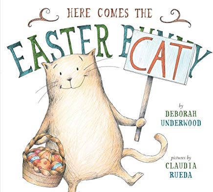 Here Comes the Easter Cat Cover