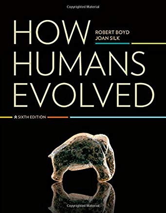 How Humans Evolved (Sixth Edition) Cover