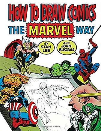 How To Draw Comics The Marvel Way Cover