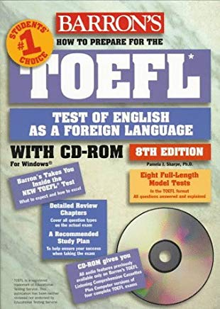 How to Prepare for the Toefl Test: Test of English As a Foreign Language (Barron's How to Prepare for the TOEFL (W/CD)) by Pamela J. Sharpe (1998-03-30) Cover