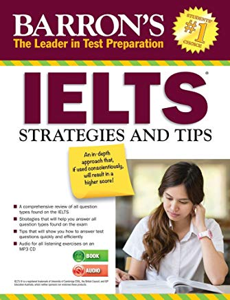 IELTS Strategies and Tips with MP3 CD Cover