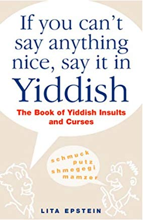 If You Can't Say Anything Nice, Say It In Yiddish Cover
