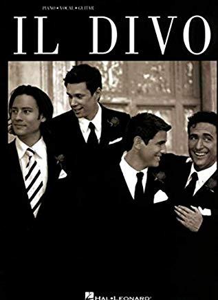 Il Divo (Piano/Vocal/Guitar Artist Songbook) Cover