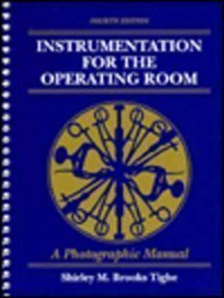 Instrumentation for the Operating Room: A Photographic Manual Cover
