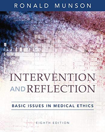 Intervention and Reflection: Basic Issues in Medical Ethics Cover