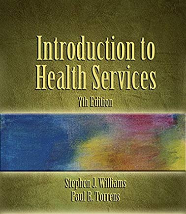 Introduction to Health Services, 7th Edition Cover