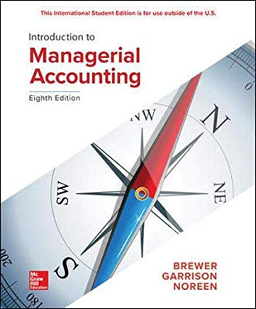 Introduction to Managerial Accounting Cover