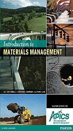 Introduction to Materials Management (Custom Edition for APICS) Cover