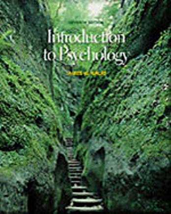 Introduction to Psychology (Book + CD-ROM) Cover