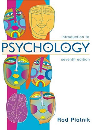 Introduction to Psychology (with InfoTrac) (Available Titles CengageNOW) Cover