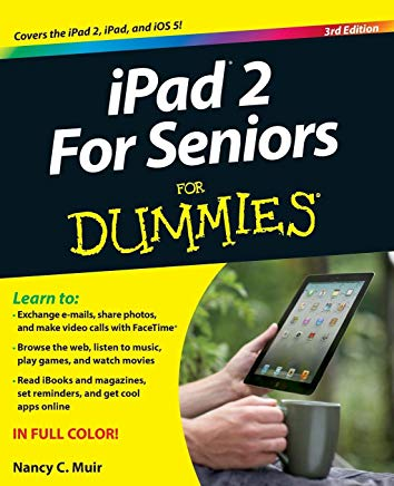 iPad 2 For Seniors For Dummies, 3rd Edition Cover