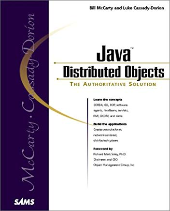 Java Distributed Objects Cover