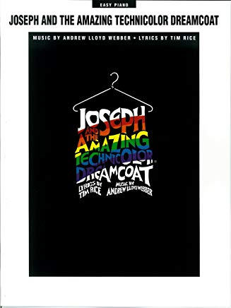 Joseph and the Amazing Technicolor Dreamcoat Songbook Cover