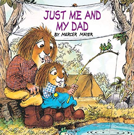 Just Me And My Dad (Turtleback School & Library Binding Edition) (Golden Look-Look Books) Cover
