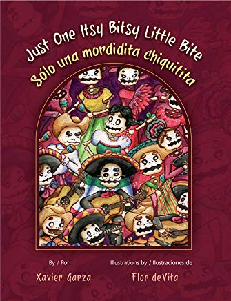 Just One Itsy Bitsy Little Bite/Sólo Un Mordadita Chiquitita (English and Spanish Edition) Cover