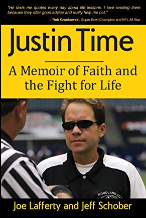 Justin Time: A Memoir of Faith and the Fight for Life Cover