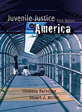 Juvenile Justice in America (5th Edition) Cover