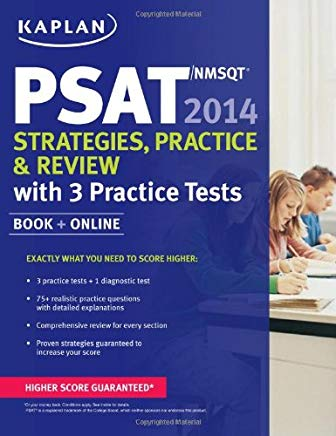 Kaplan PSAT/NMSQT 2014 Strategies, Practice, and Review: book + online Cover