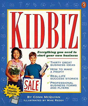 Kidbiz: Everything You Need to Start Your own Business Cover