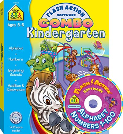 Kindergarten Flash Action Combo (Flash Action Software Combo) Cover