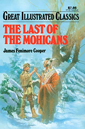 Last of the Mohicans Great Illustrated Classics Cover