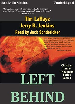 Left Behind by Tim LaHaye and Jerry B. Jenkins, (Left Behind Series, Book 1) from Books In Motion.com Cover