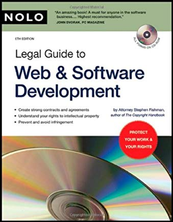 Legal Guide to Web & Software Development (book with CD-Rom) Cover