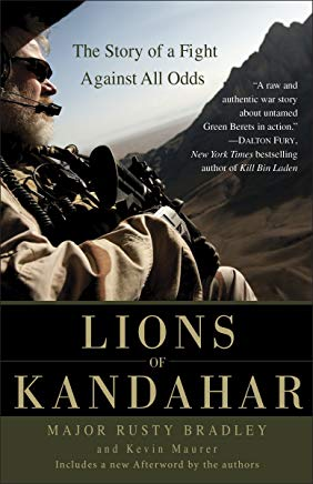 Lions of Kandahar: The Story of a Fight Against All Odds Cover