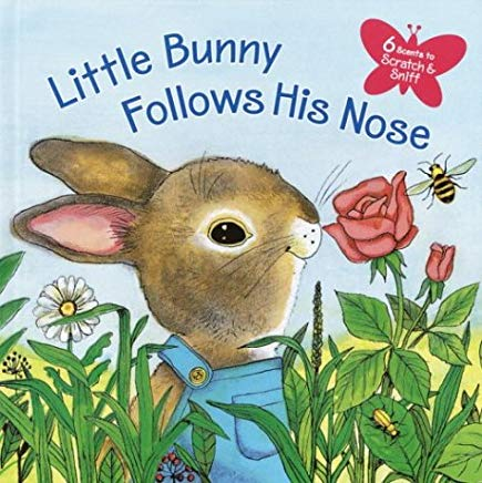 Little Bunny Follows His Nose (Scented Storybook) Cover