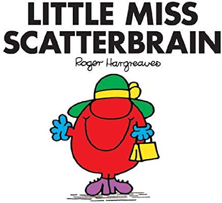 Little Miss Scatterbrain (Mr. Men and Little Miss Book 17) Cover