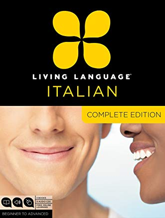 Living Language Italian, Complete Edition: Beginner through advanced course, including 3 coursebooks, 9 audio CDs, and free online learning Cover