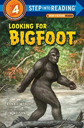 Looking for Bigfoot (Step into Reading) Cover