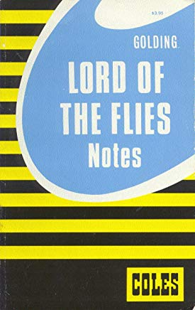 Lord of the Flies/Coles Notes Cover