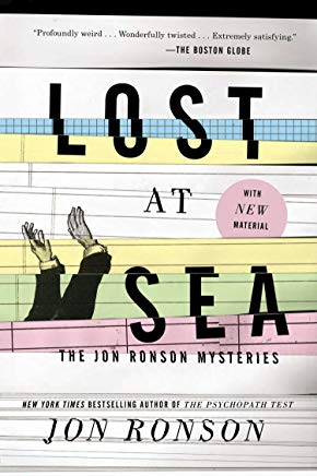 Lost at Sea: The Jon Ronson Mysteries Cover