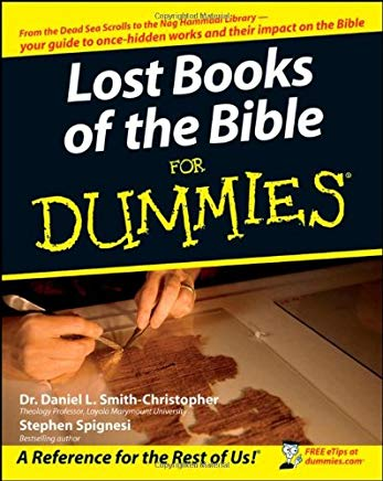 Lost Books of the Bible For Dummies Cover