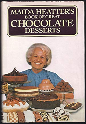 Maida Heatter's Book of Great Chocolate Desserts Cover