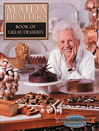 Maida Heatter's Book of Great Desserts Cover
