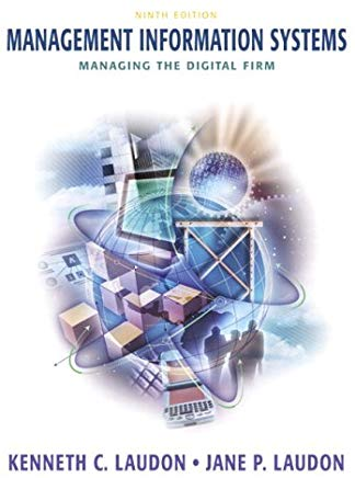 Management Information Systems: Managing the Digital Firm (9th Edition) Cover
